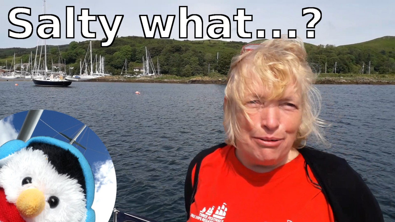 Watch our 'Salty What?' video and add comments etc.