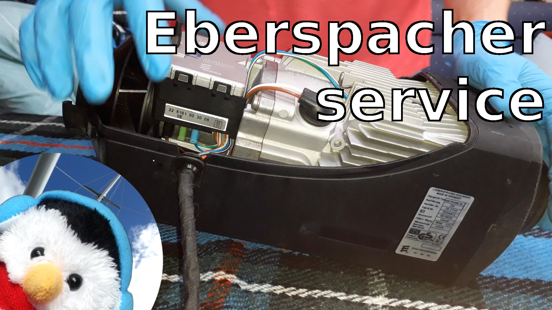 Watch our 'Eberspacher Service' and add comments etc