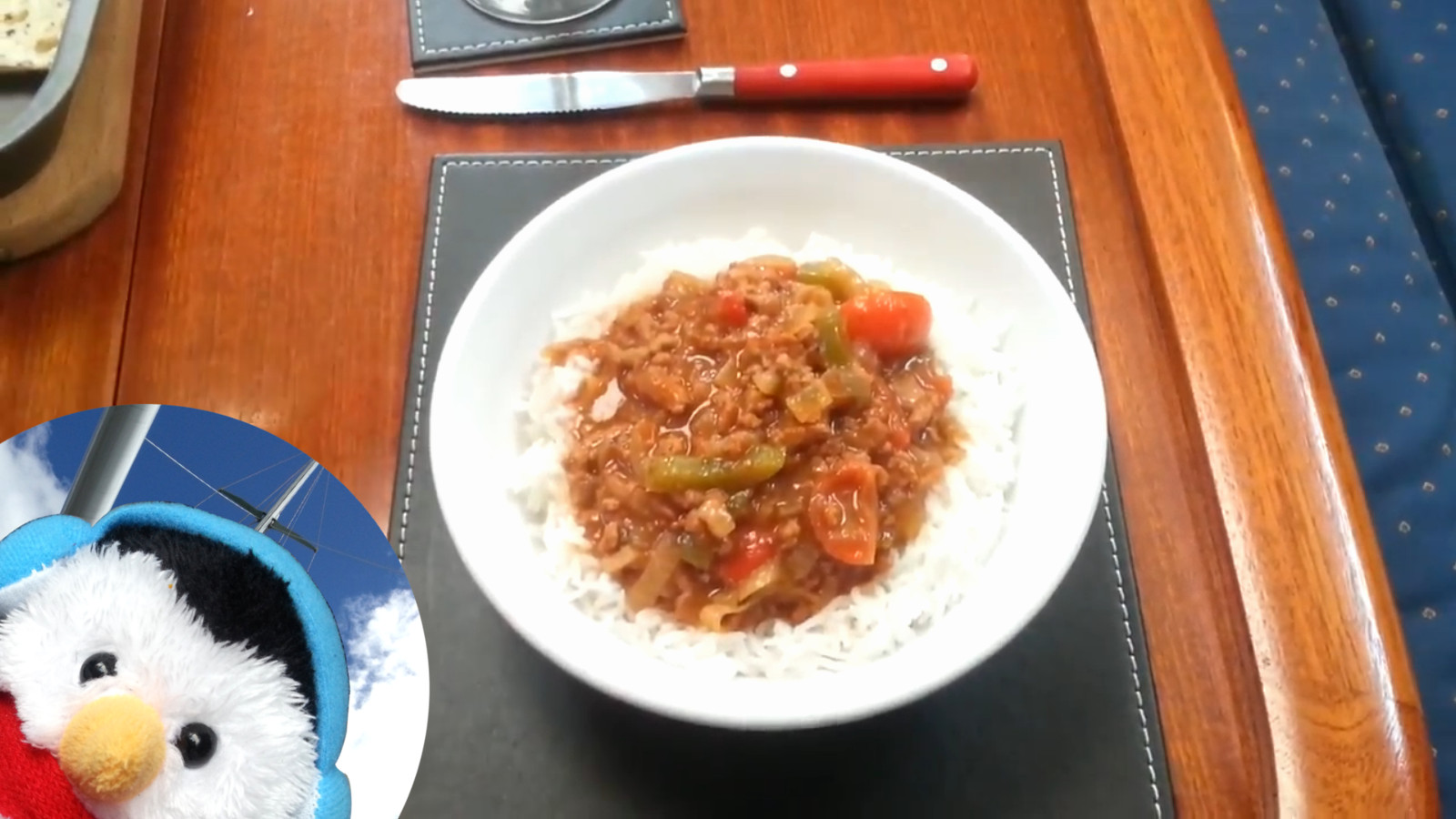 To watch how I made our leftover chilli and add comments etc.