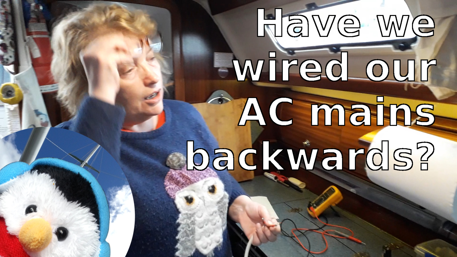 "Watch our ""Have we wired our AC mains backwards"" video and add comments etc."
