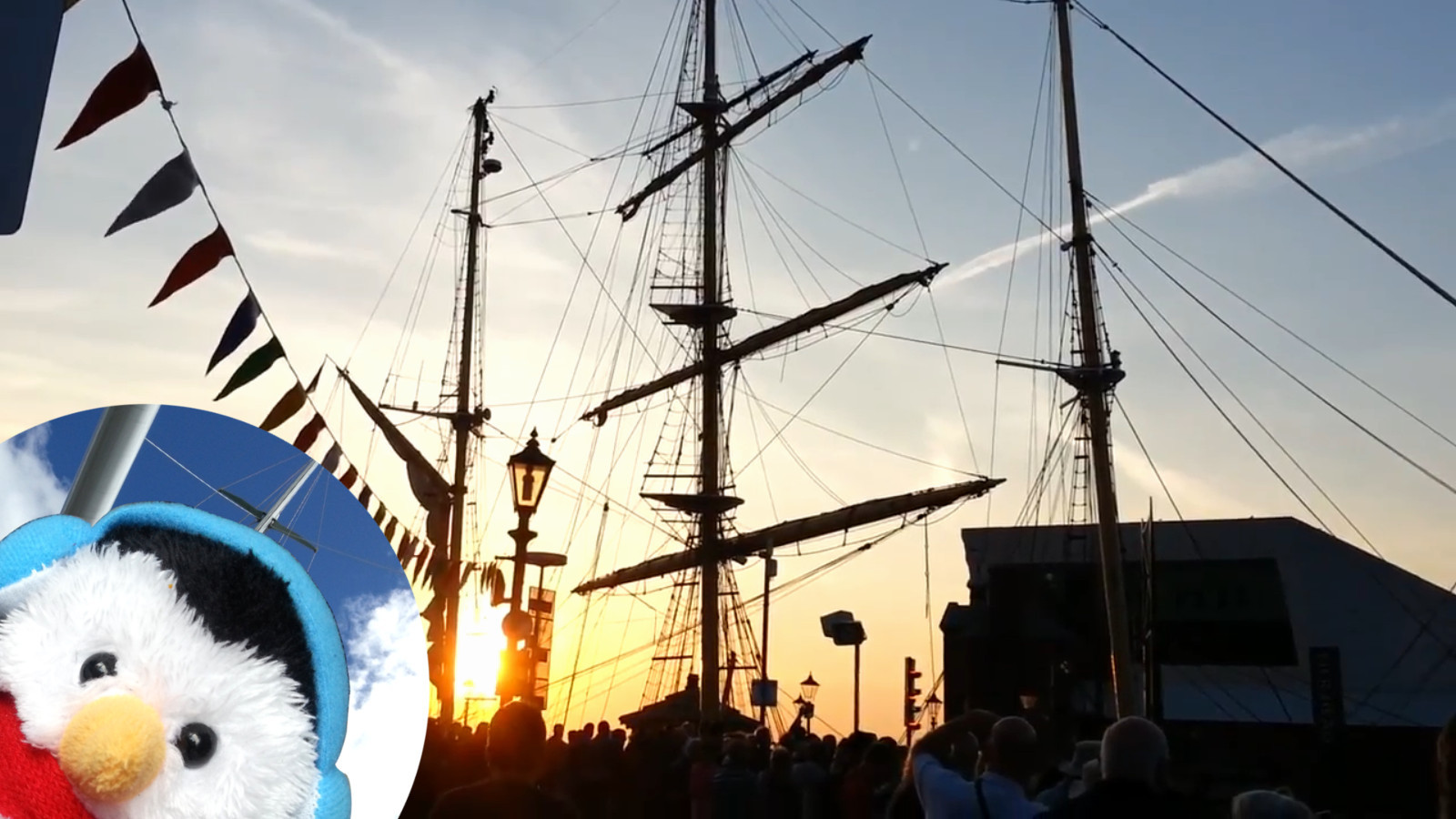 Watch Tall Ships in Liverpool in full screen mode and add comments etc.