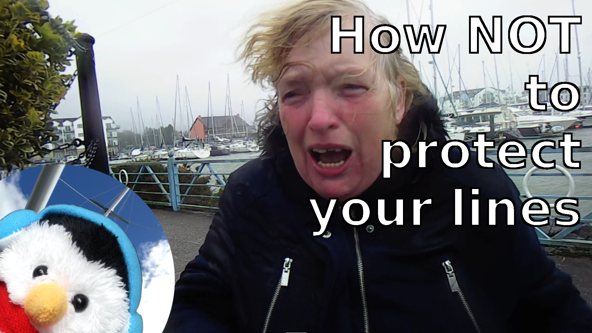 "Watch our ""How not to protect your lines"" video and"