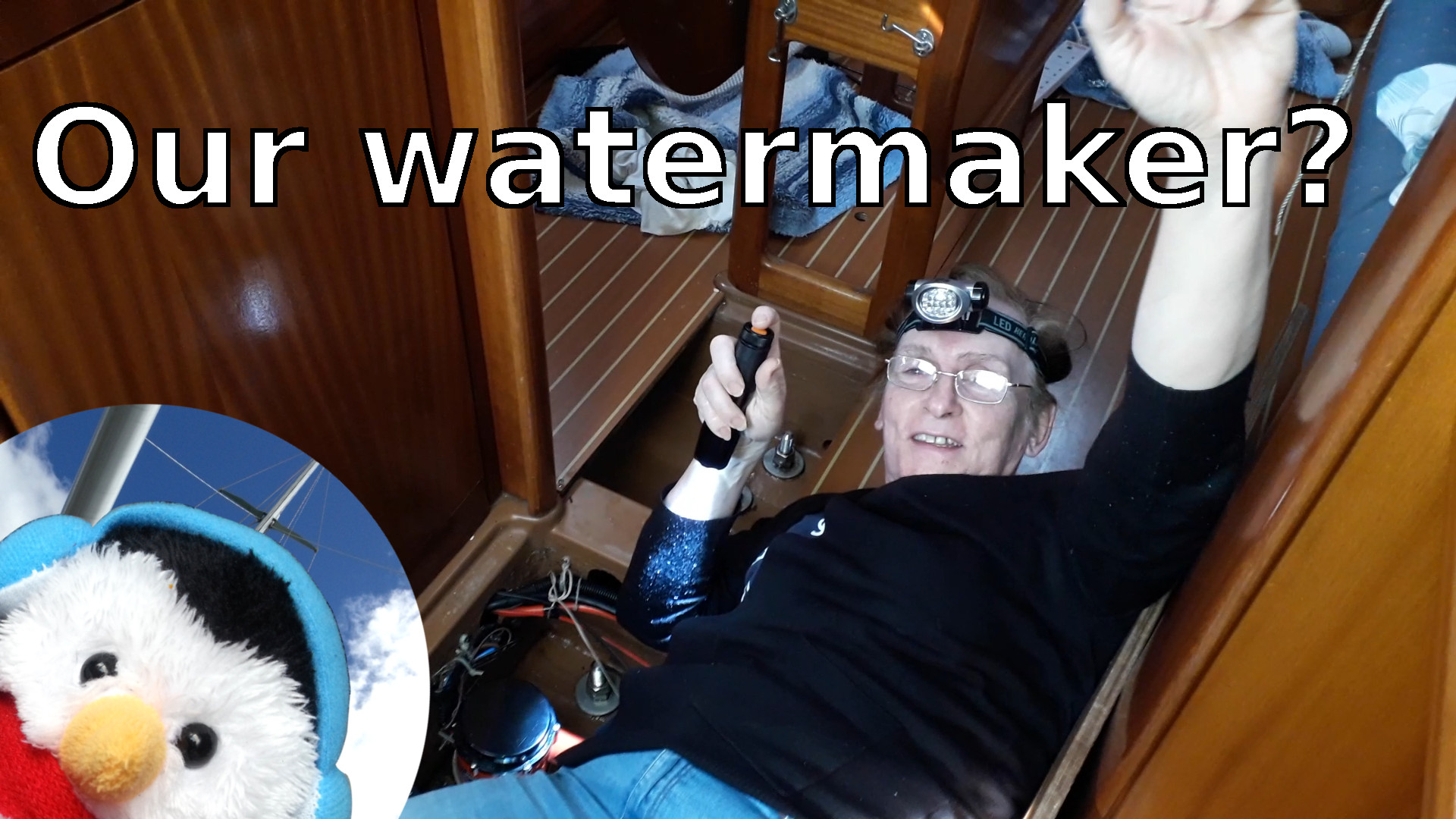 "Watch our ""Watermaker"" video and add comments etc."