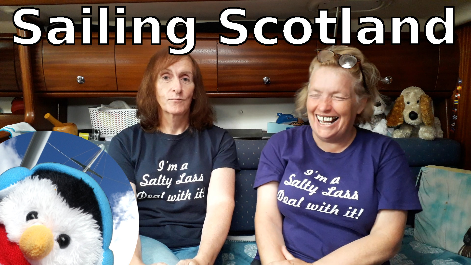 Watch our 'Sailing Scotland' video and add comments etc.