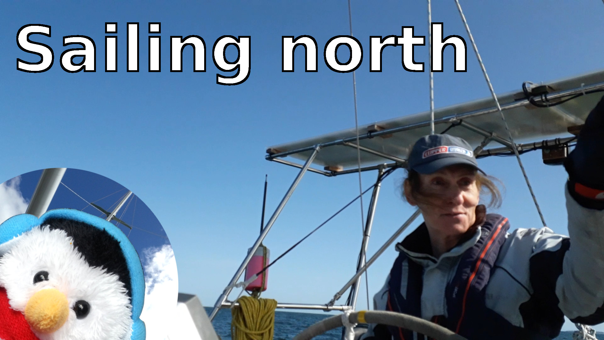 "Watch our ""Sailing North"" video and add comments etc."
