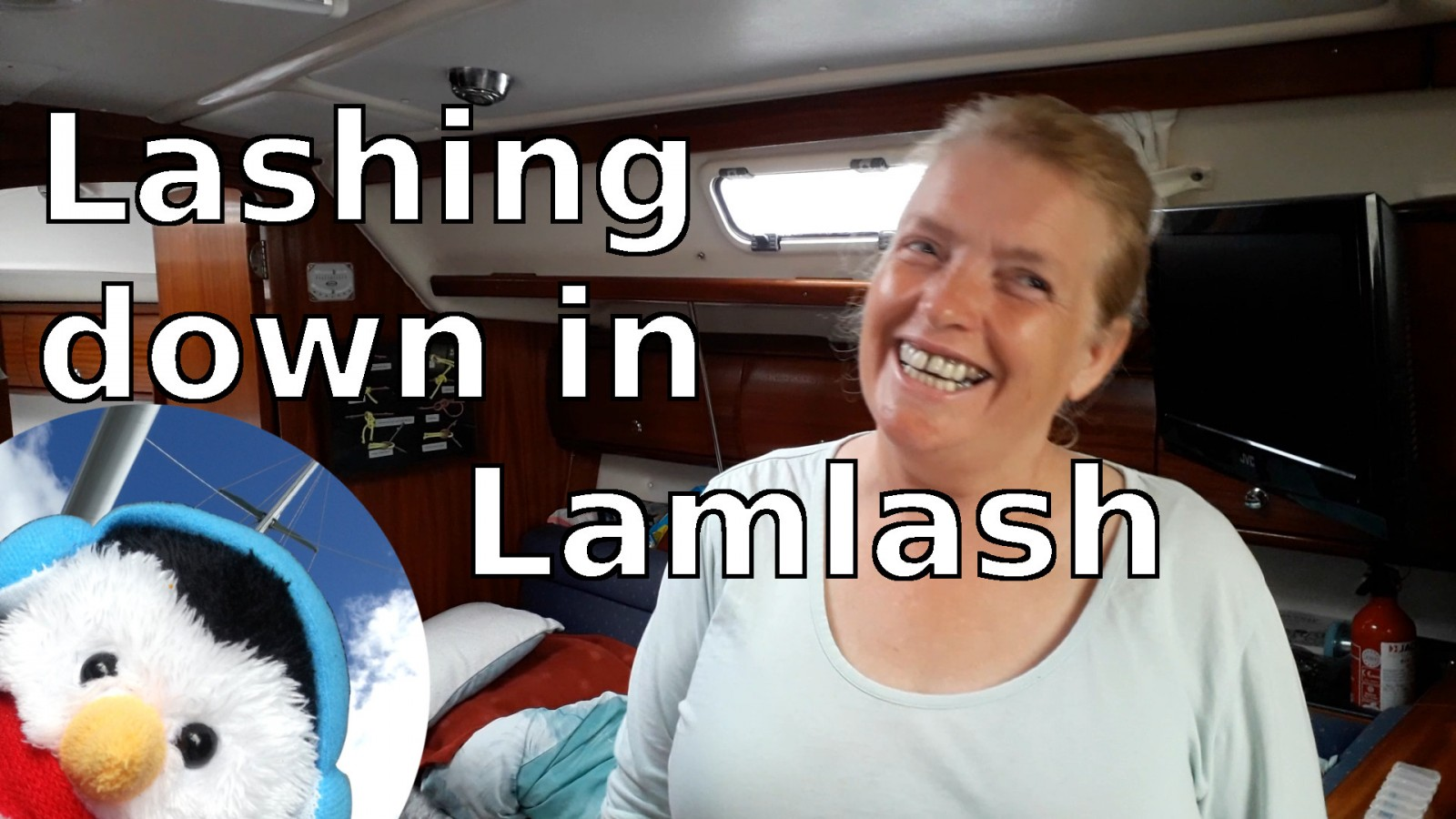 Watch our 'Lashing down in Lamlash' video and add comments etc.