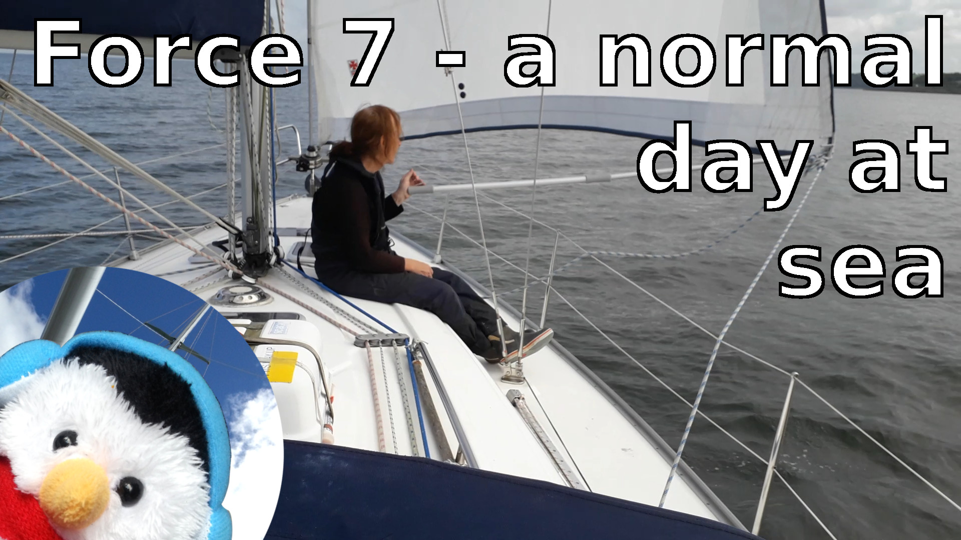 Watch our 'Force 7 - A normal day at sea. video and add comments etc.