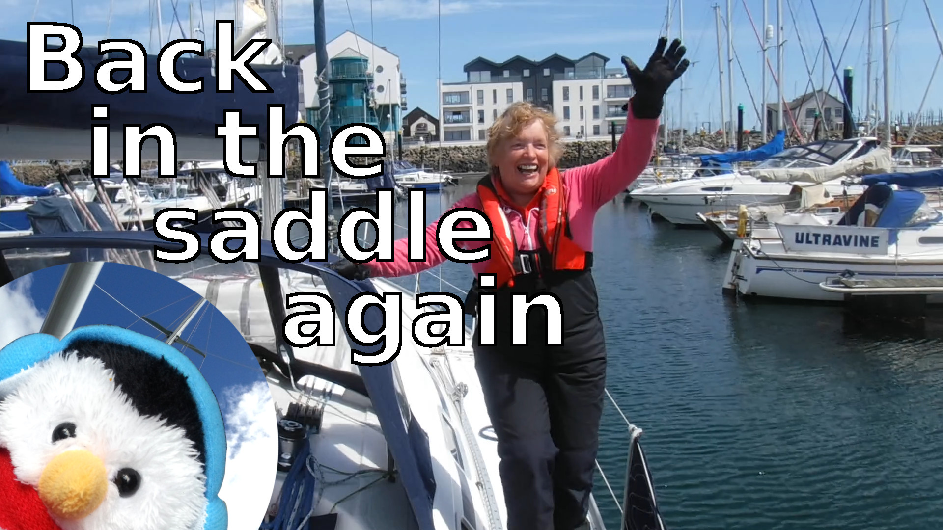 "Watch our ""In the saddle again"" video and add comments etc."