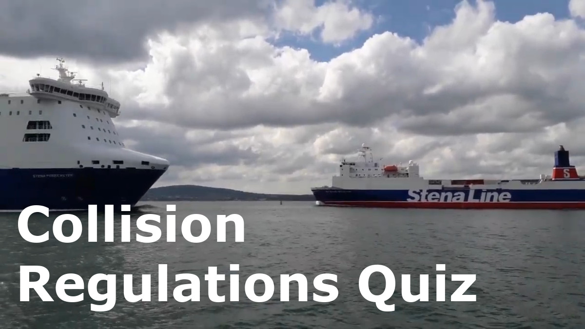 Collision Regulations Quiz Rules 1-19