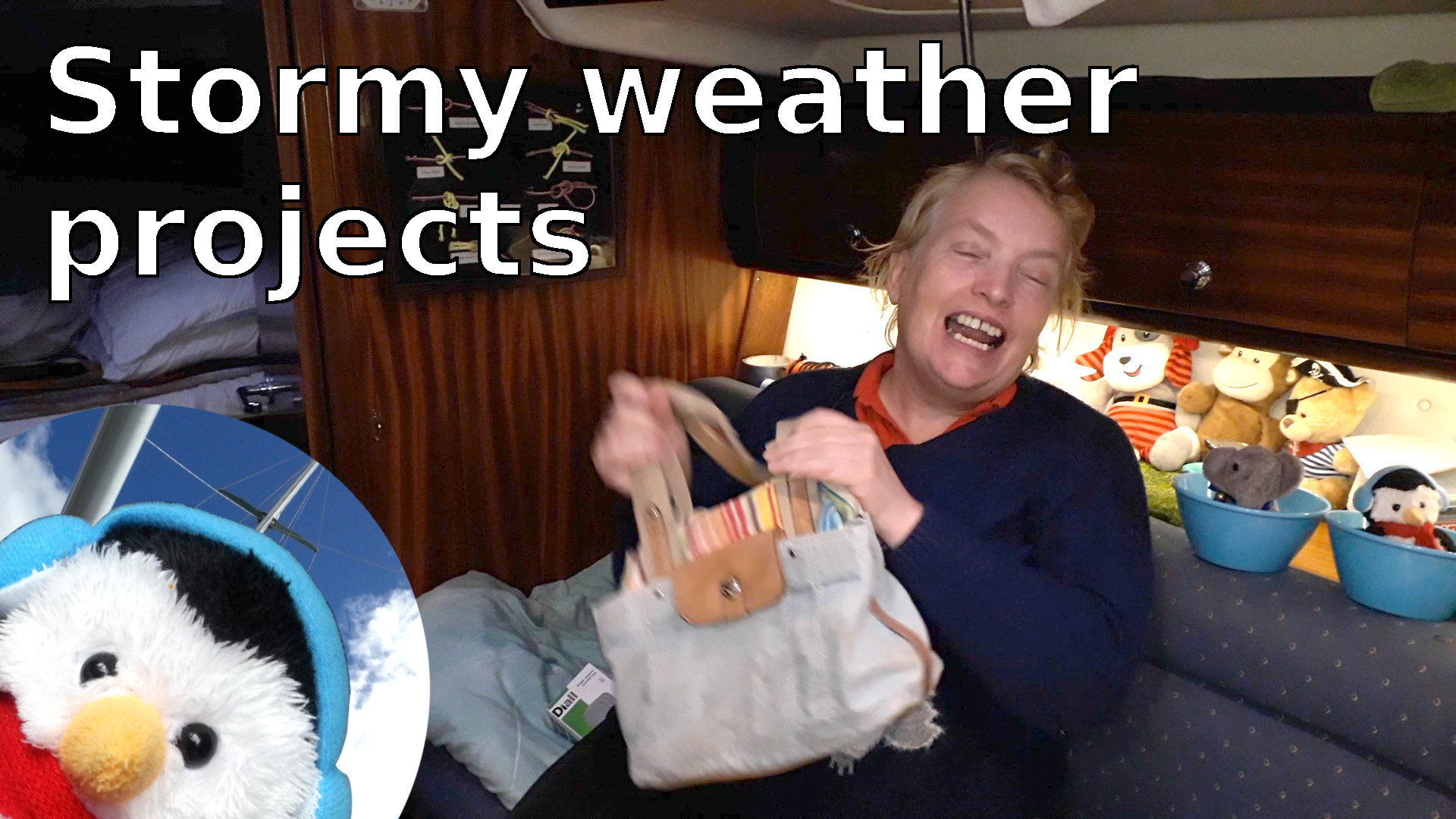 "Watch our ""stormy weather projects"" video and add comments etc."