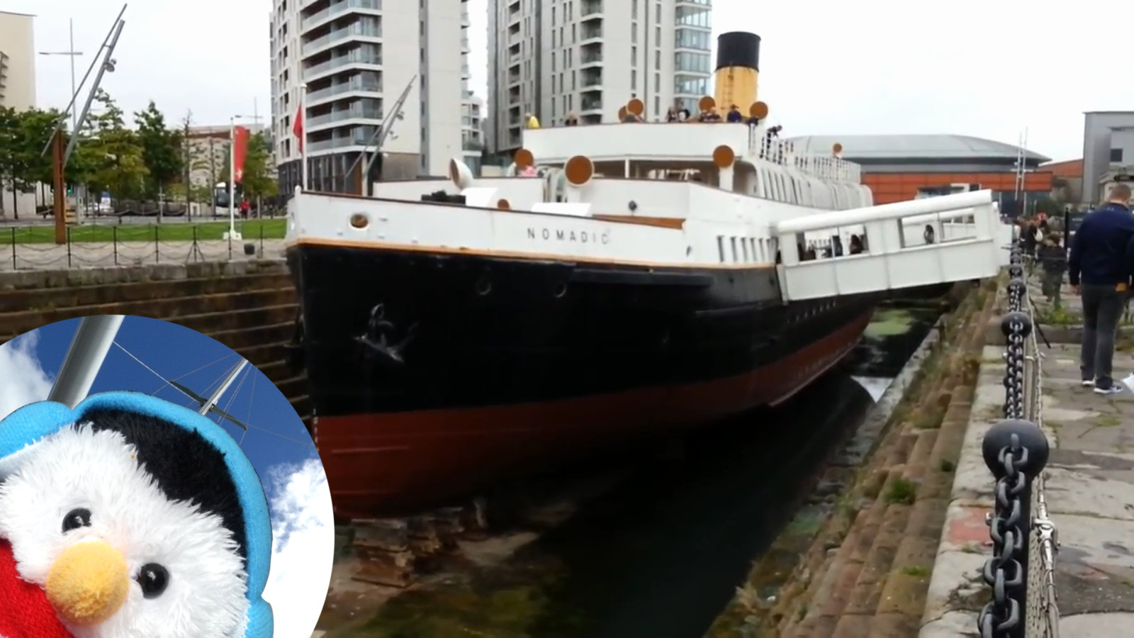 Watch our 'Titanic Video' and add comments etc.
