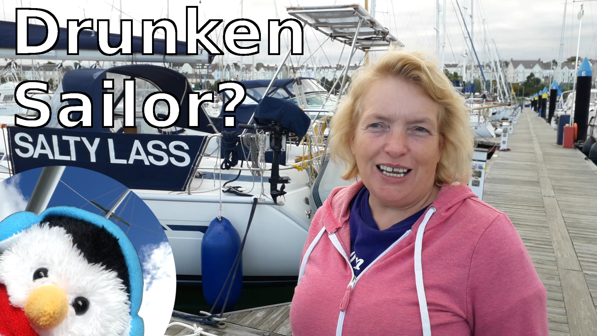 Watch our 'Drunken Sailor' episode and leave comments etc.
