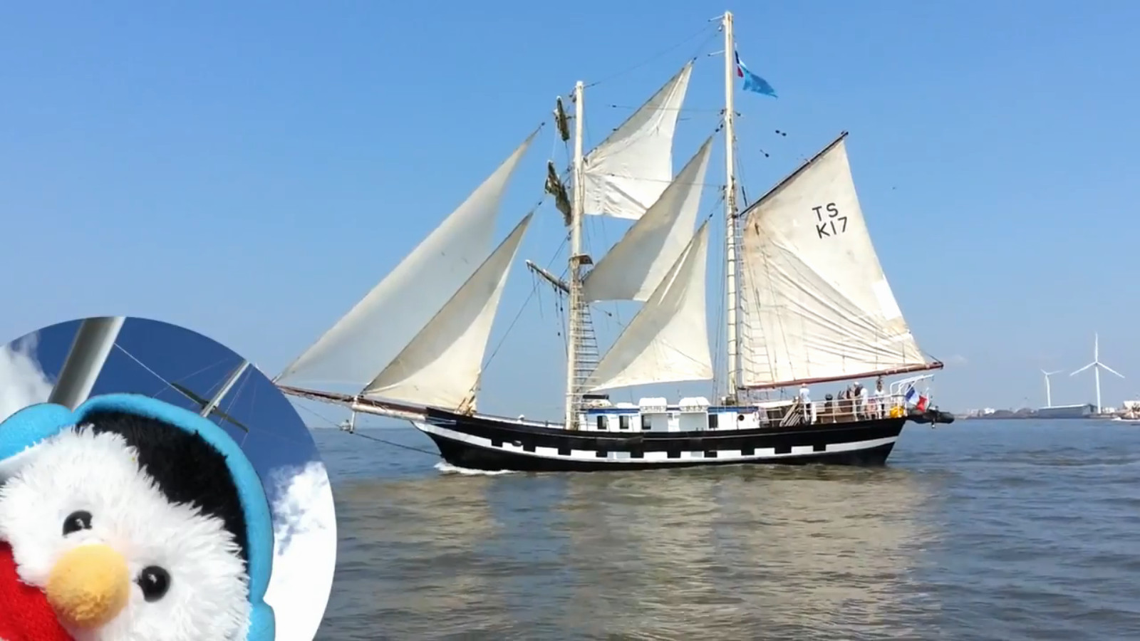 Watch our video Tall ships on the Mersey and add comments etc.