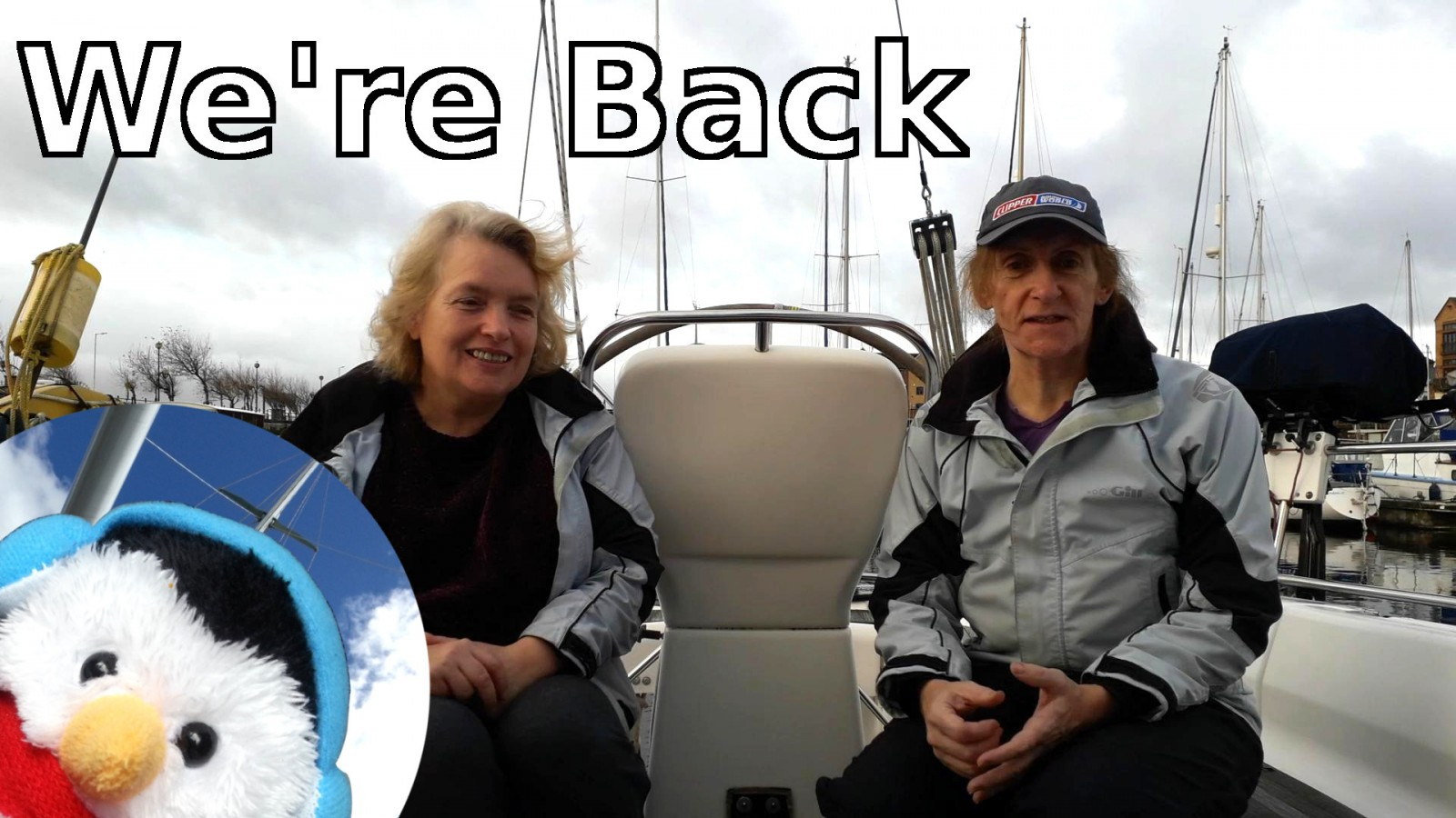 Watch our 'We are back' video and add comments etc.