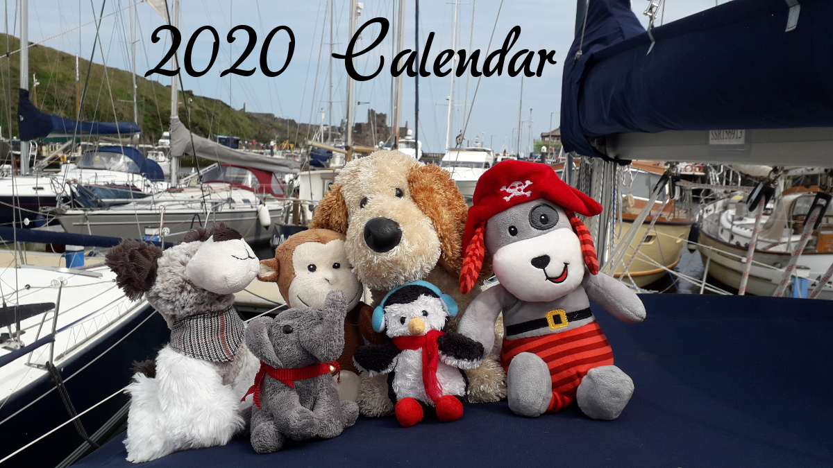 Prudence and Friends Calendar 2020