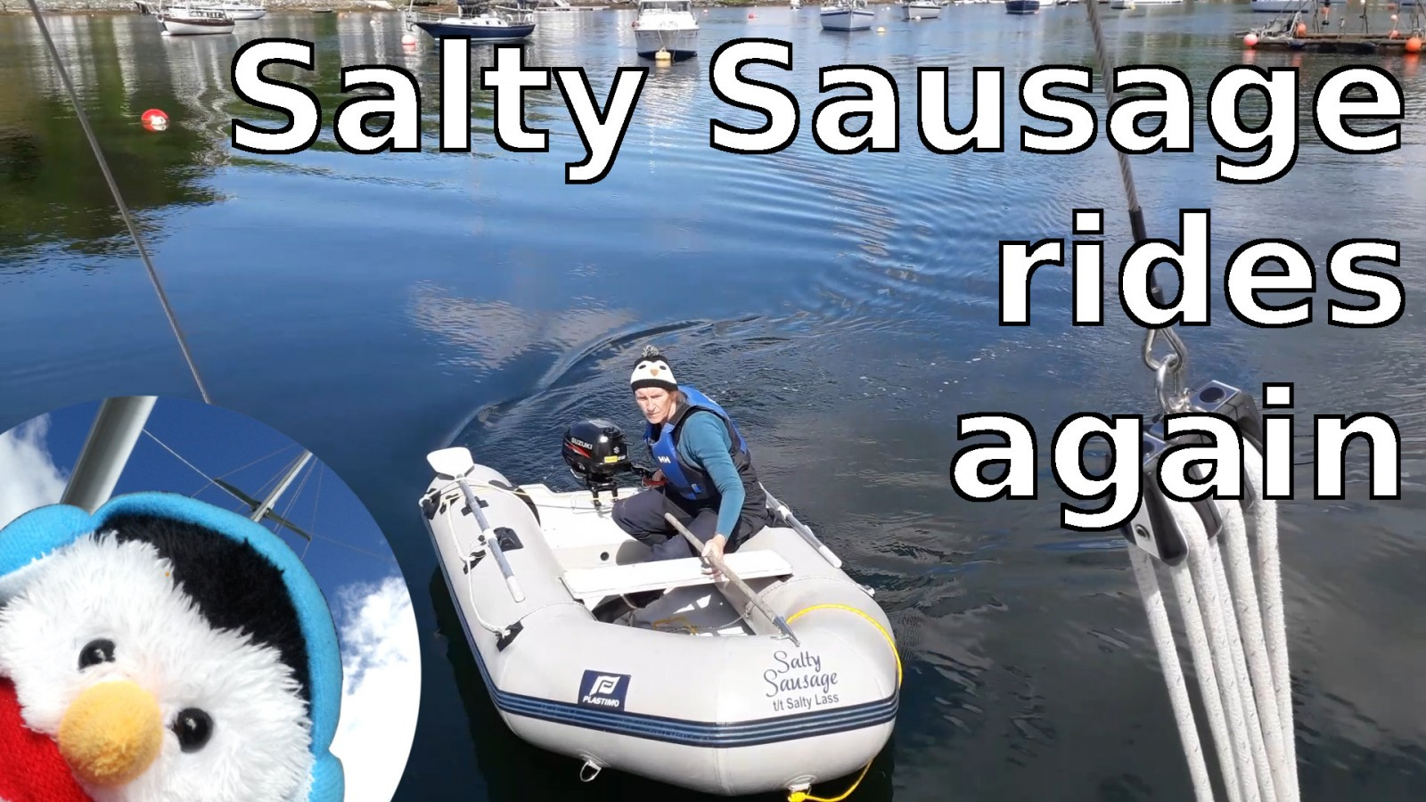 Watch our 'Salty Sausage rides again' and add comments etc.