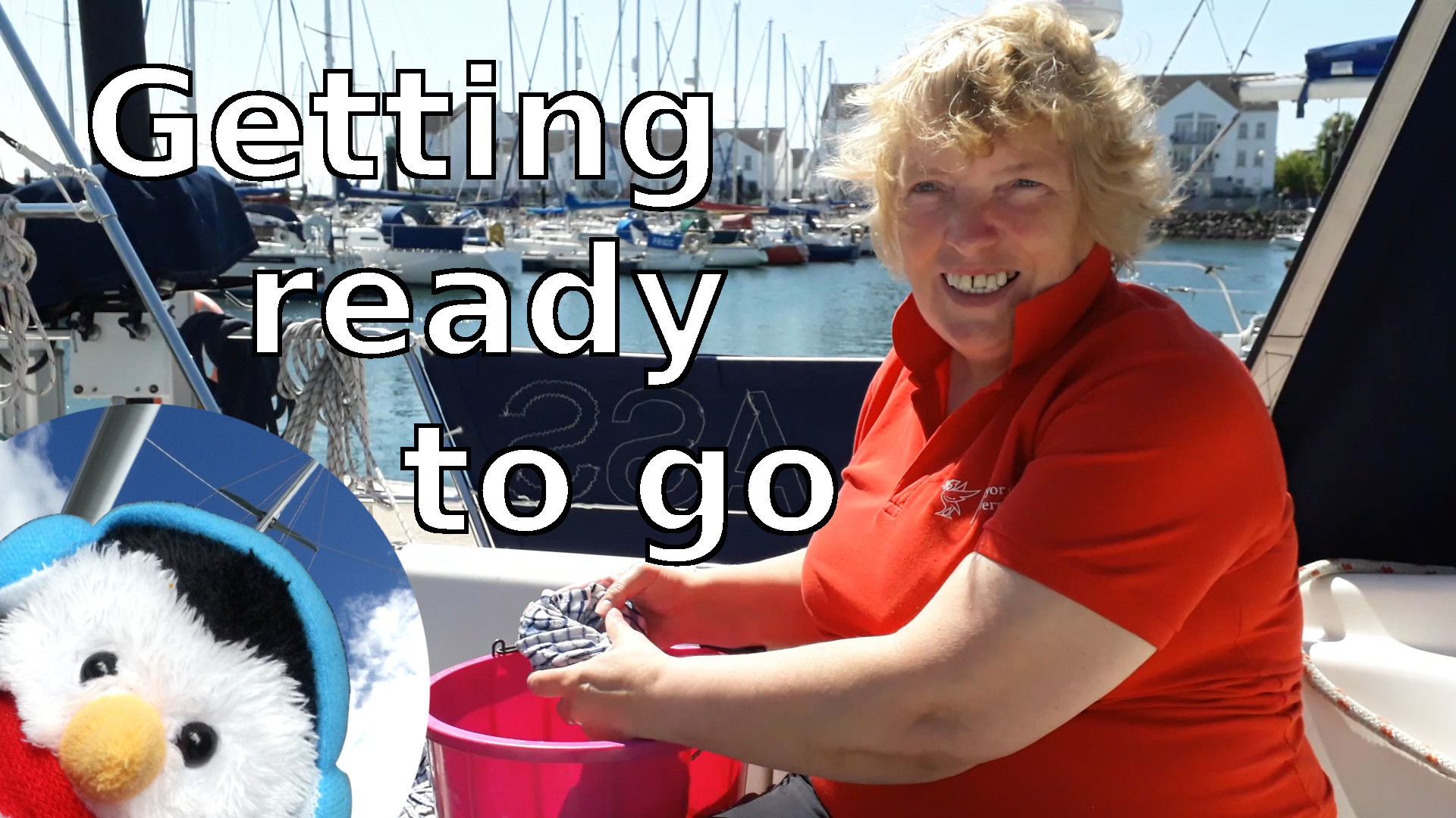 "Watch our ""Getting ready to go"" video and add comments etc."