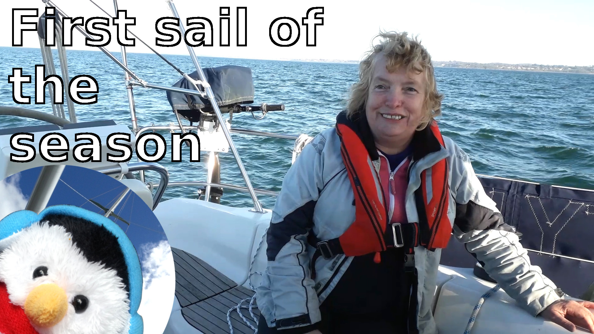 "Watch our ""First sail of the season"" video and add comments"