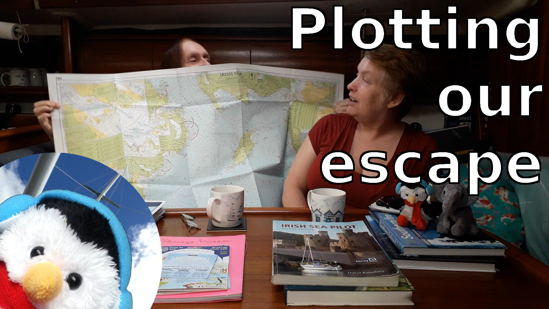 "Watch our ""Plotting our escape"" video and add comments etc"