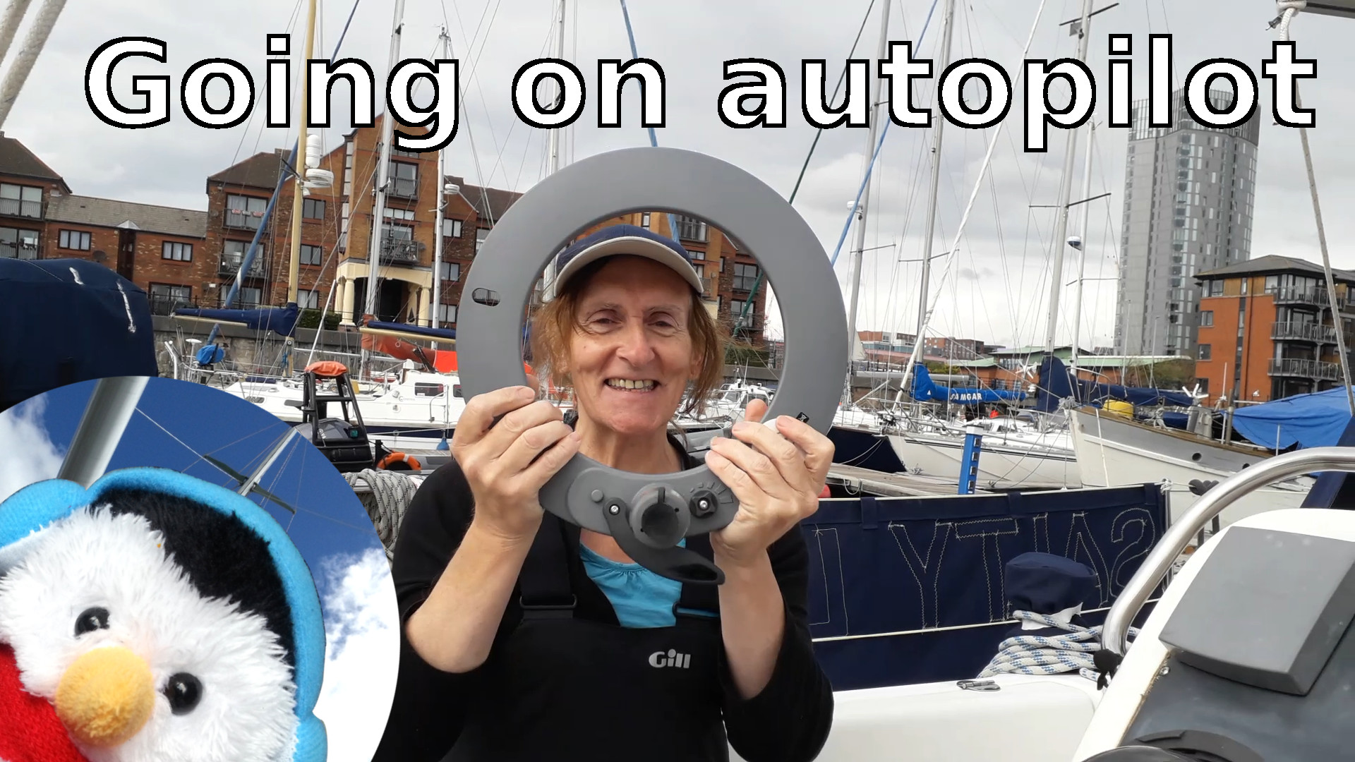 "Watch our ""Marine autopilot installation"" and add comments etc."