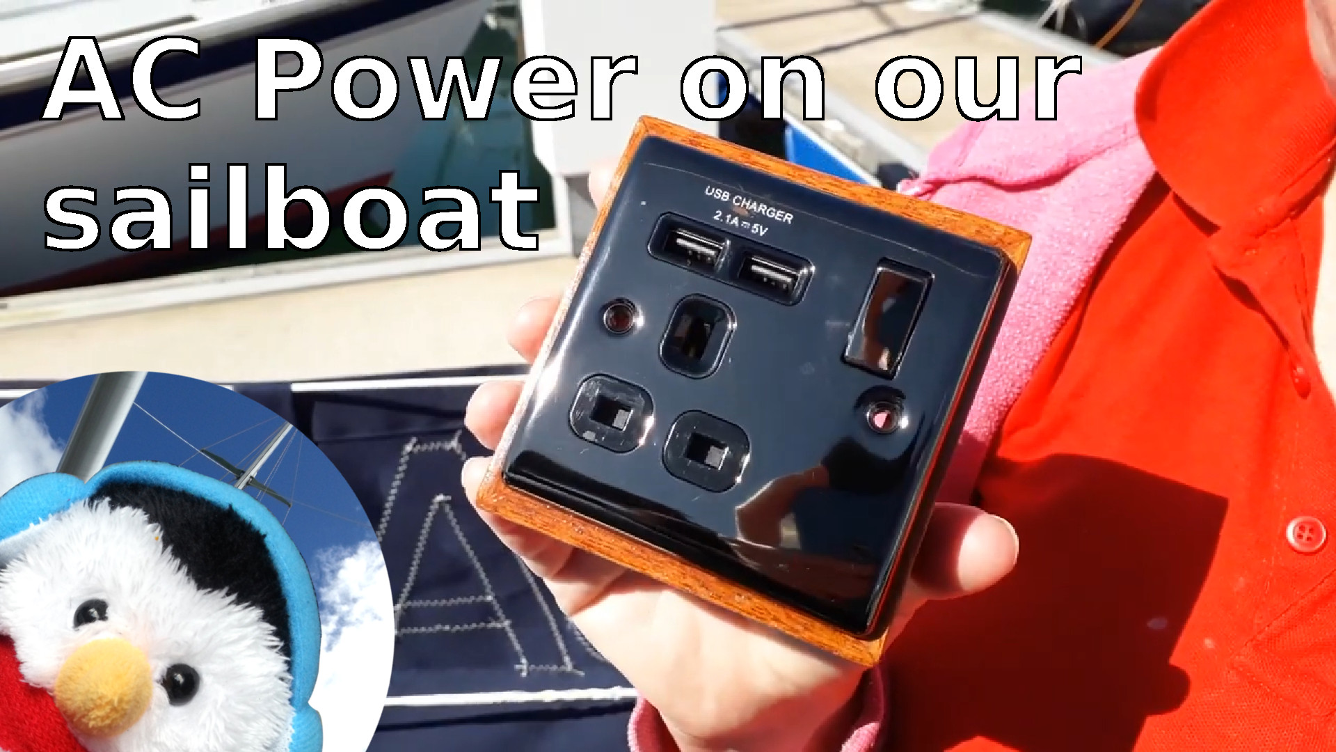 "Watch our ""AC Powe on our sailboat"" and make comment"