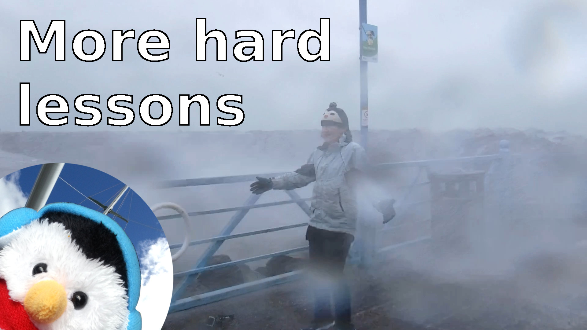 "Watch our ""More hard lessons"" video and add comment"