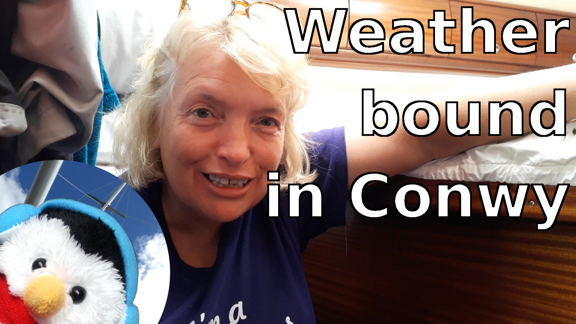 Watch our 'Weather bound in Conwy' video and add comments etc.