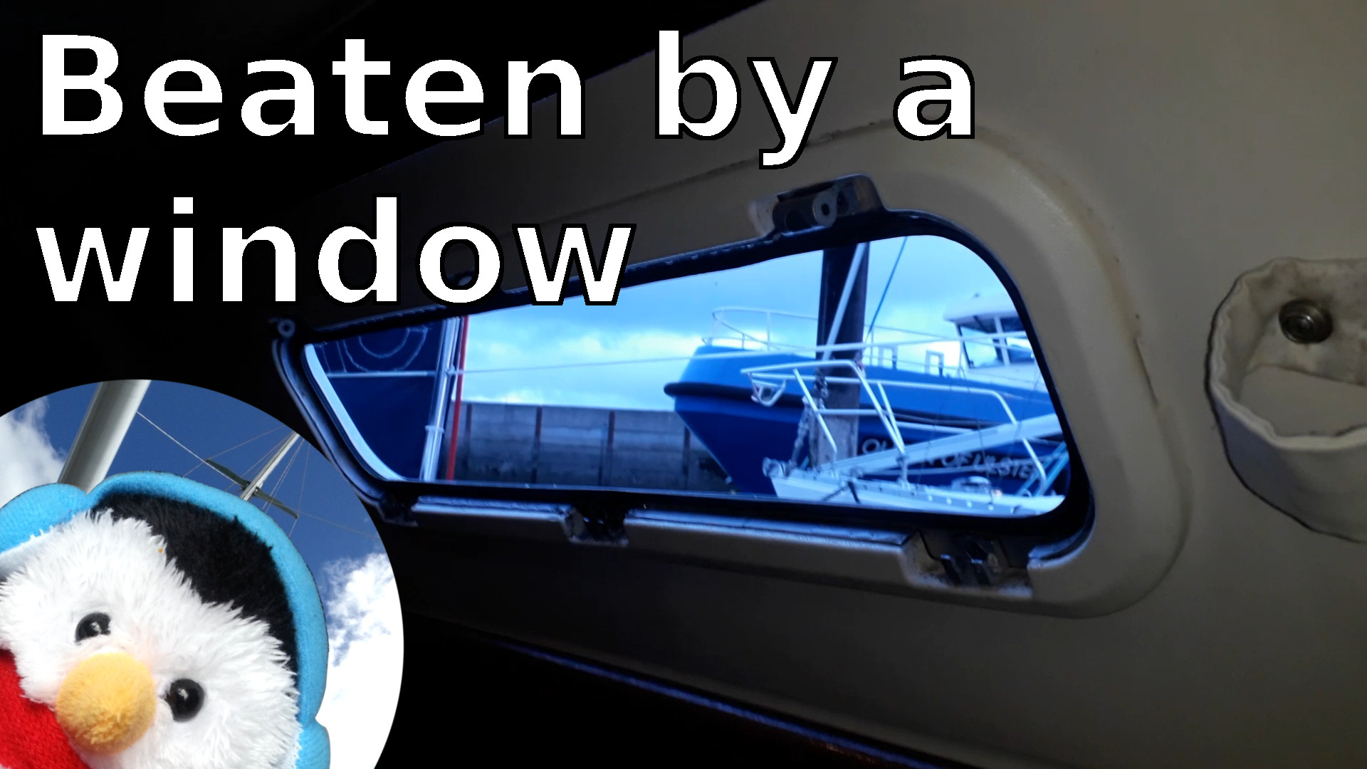 "Watch our ""Beaten by a window"" video and add comments etc."