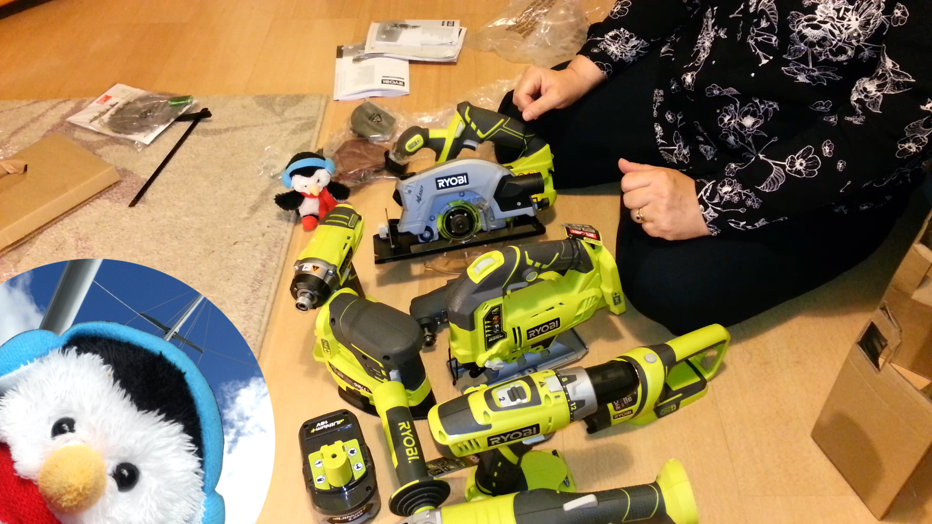 Watch our 'Power tools are a girls best friend' video and add comments etc.