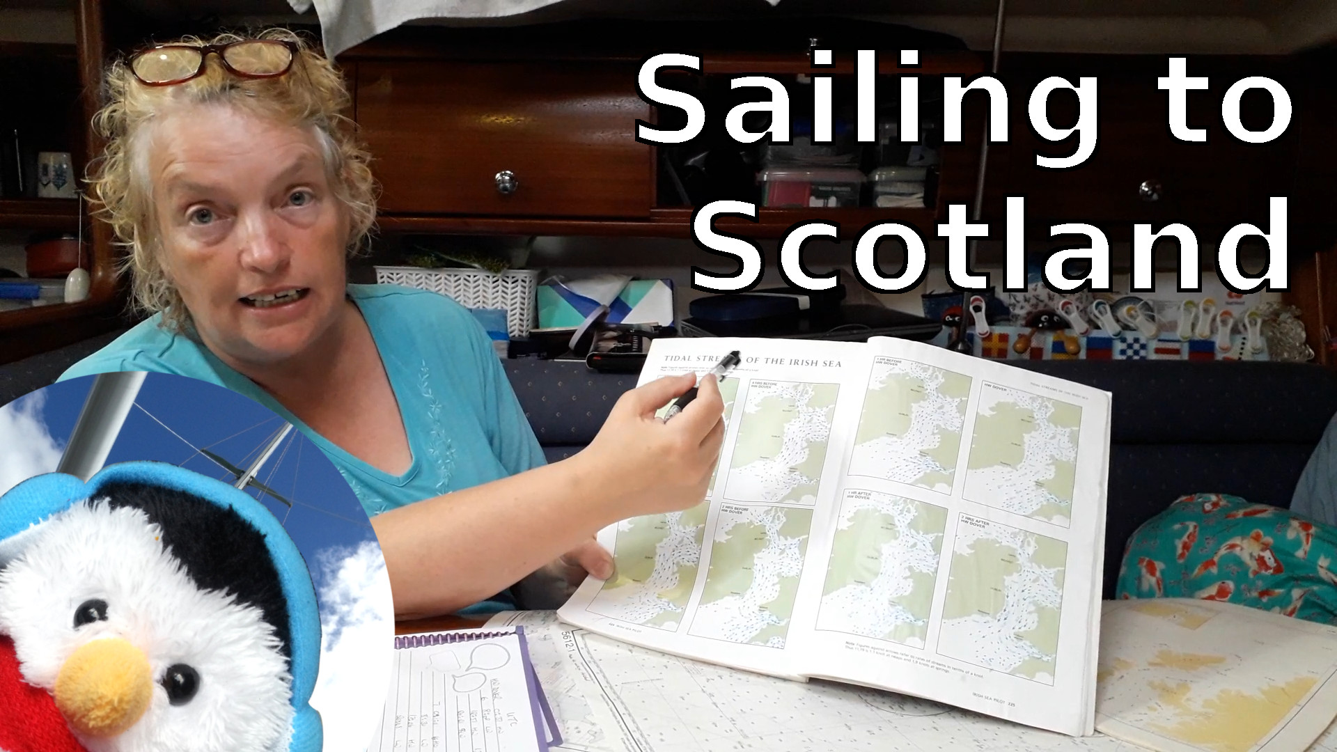 "Watch our ""Sailing to Scotland"" video and add comments etc."