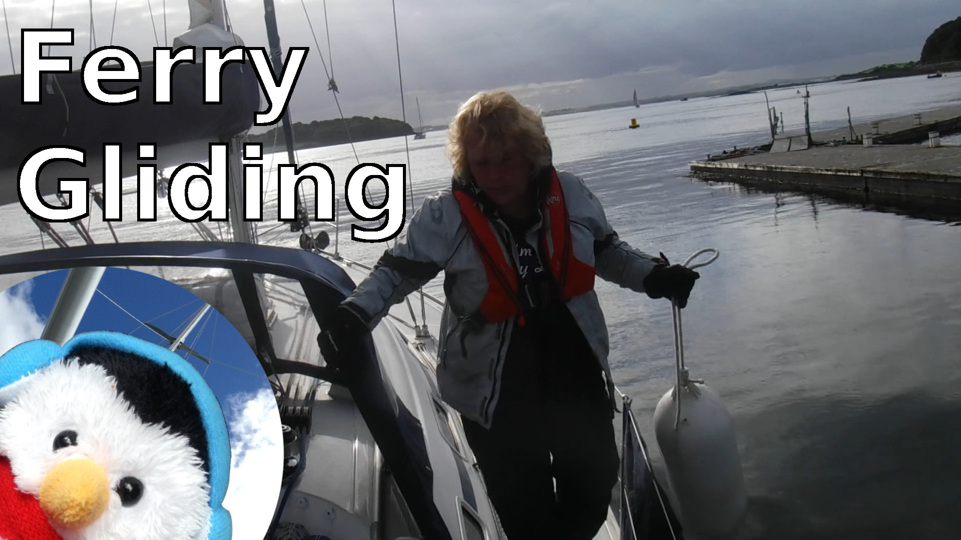 "Watch our ""Ferry gliding"" video and make comments."