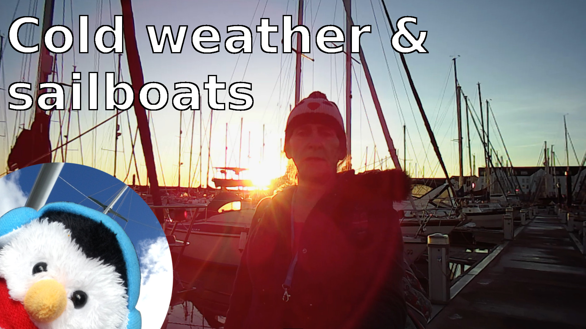 "Watch our ""Cold weather and sailboats"" video and add comments etc."