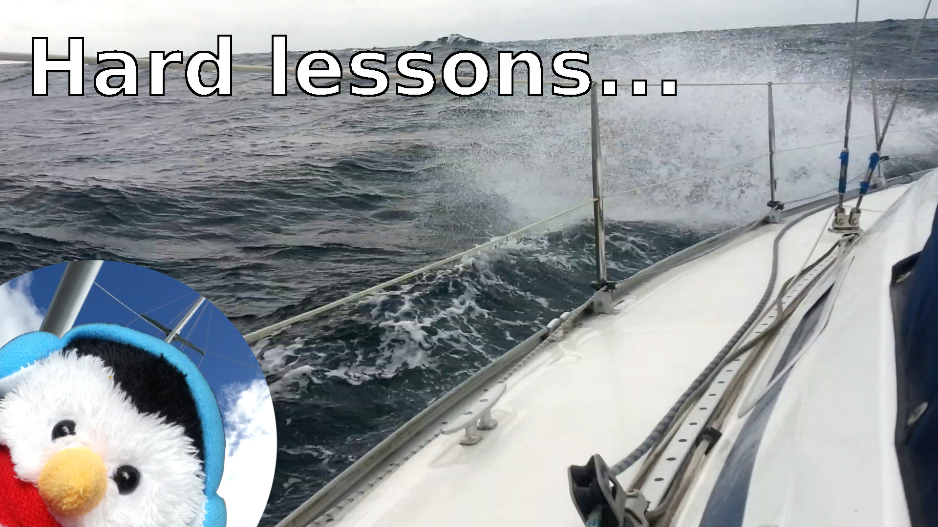 "Watch our ""Hard Lessons"" video and add comments etc."