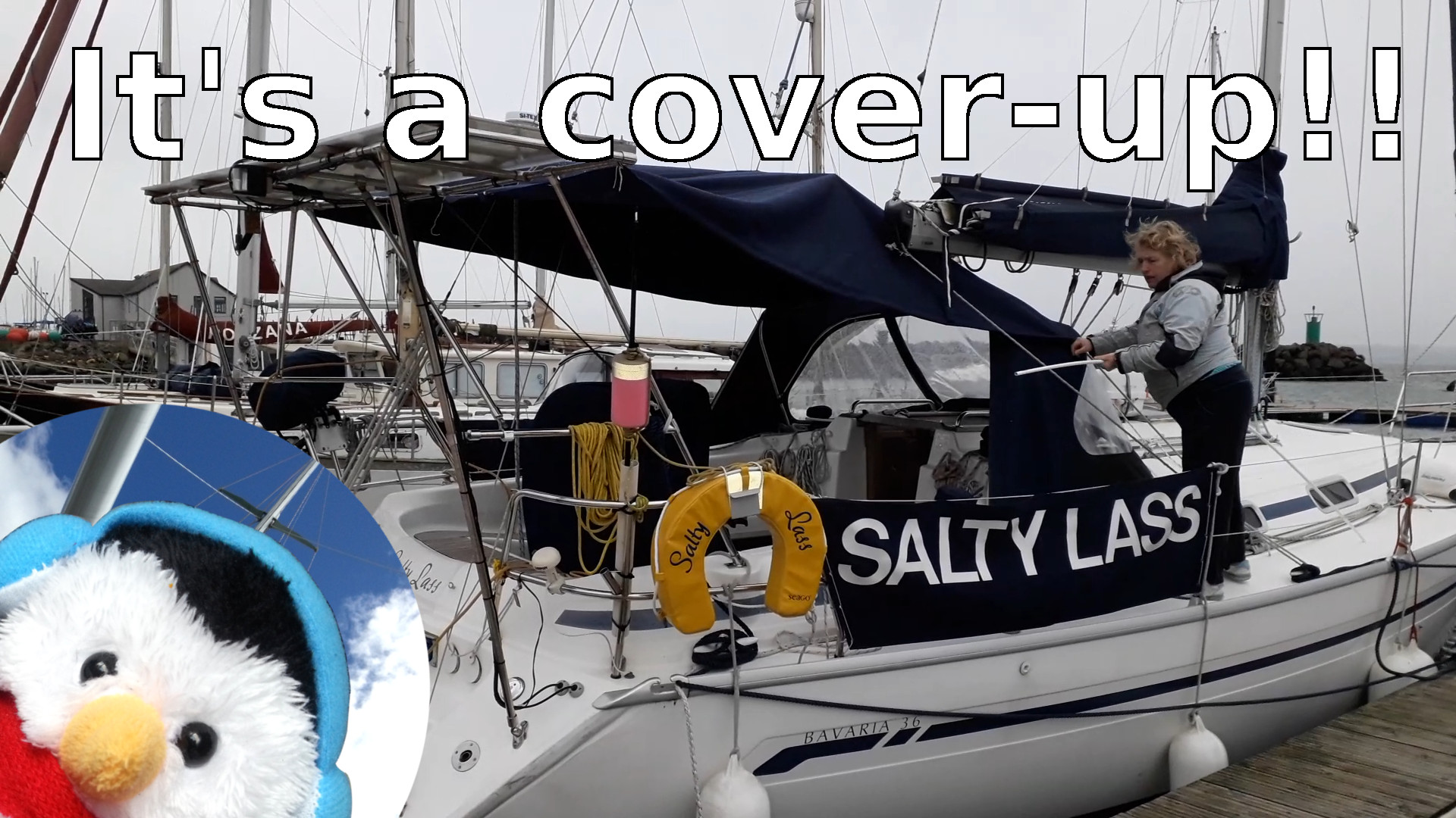 "Watch our ""It's a cover up"" video and add comments"