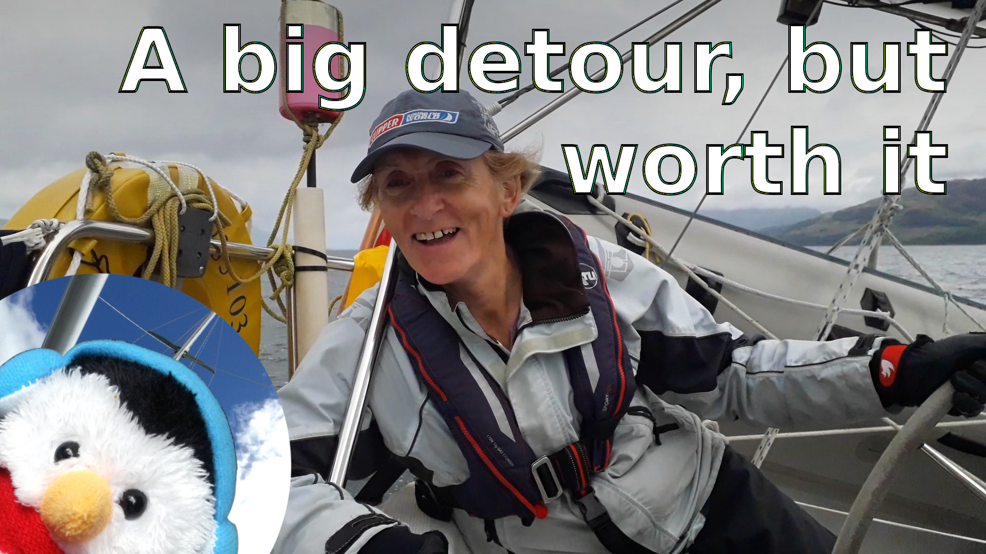 """Watch our """"A big detour, but worth it"""" video and add comments etc."""