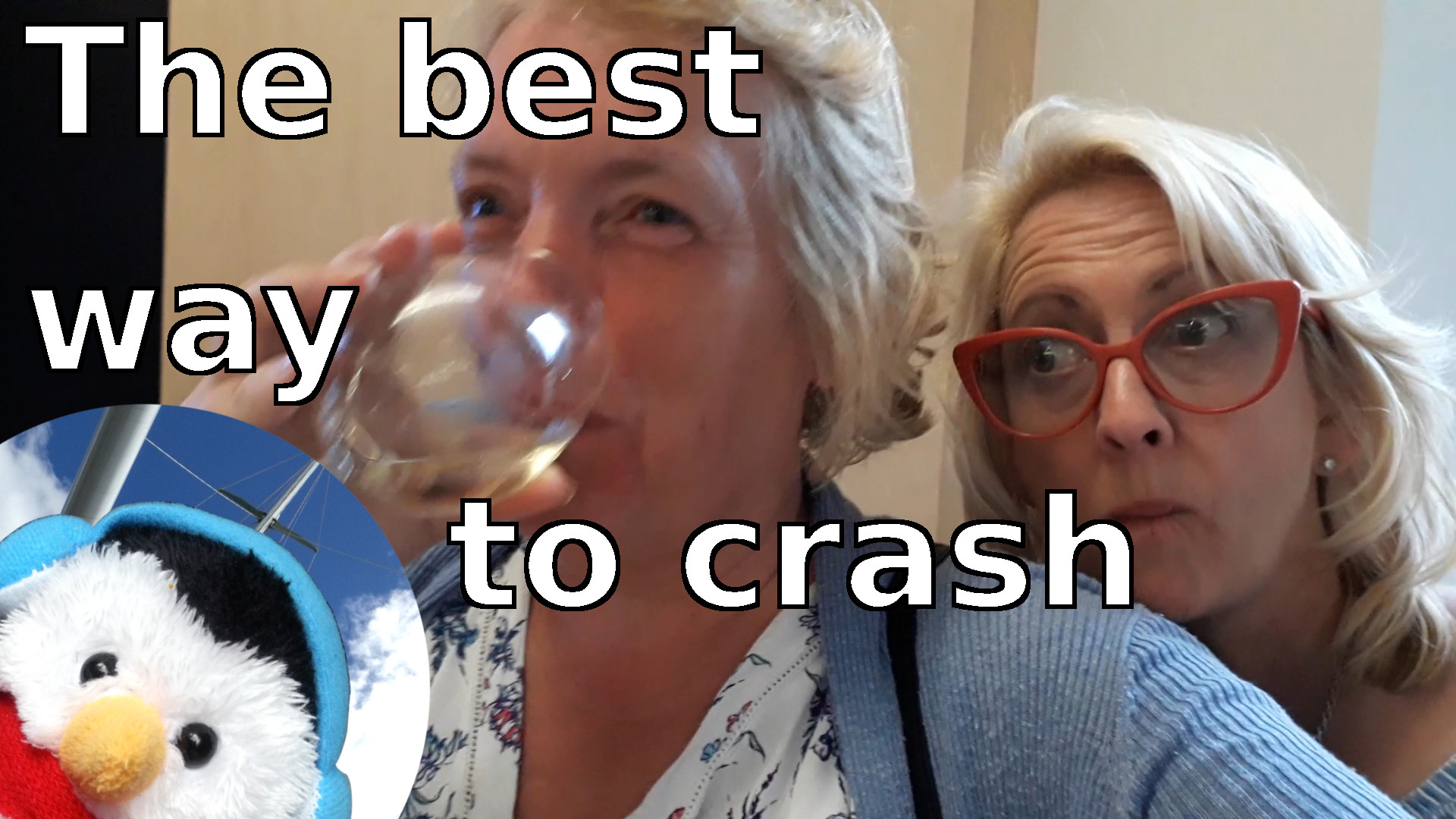 Watch our 'The best way to crash' video and add comments etc