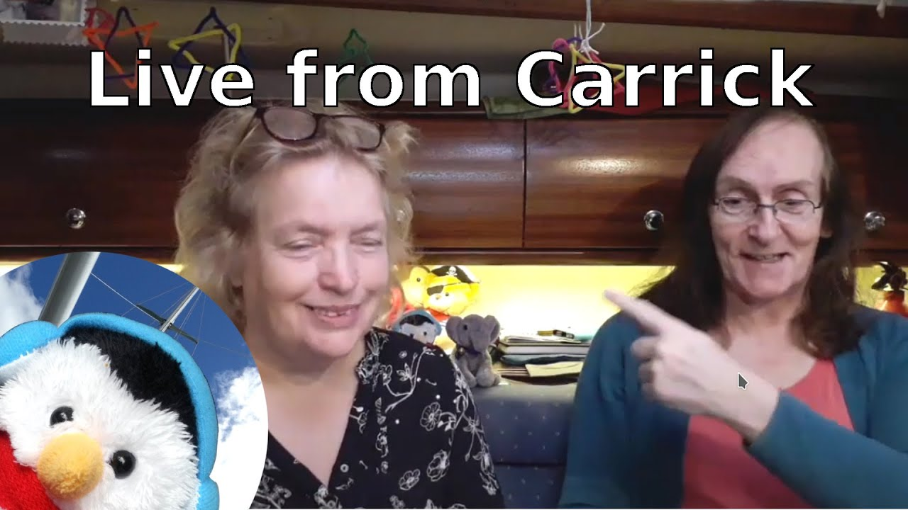 "Watch our ""Live from Carrickfergus"" video and add comments etc."