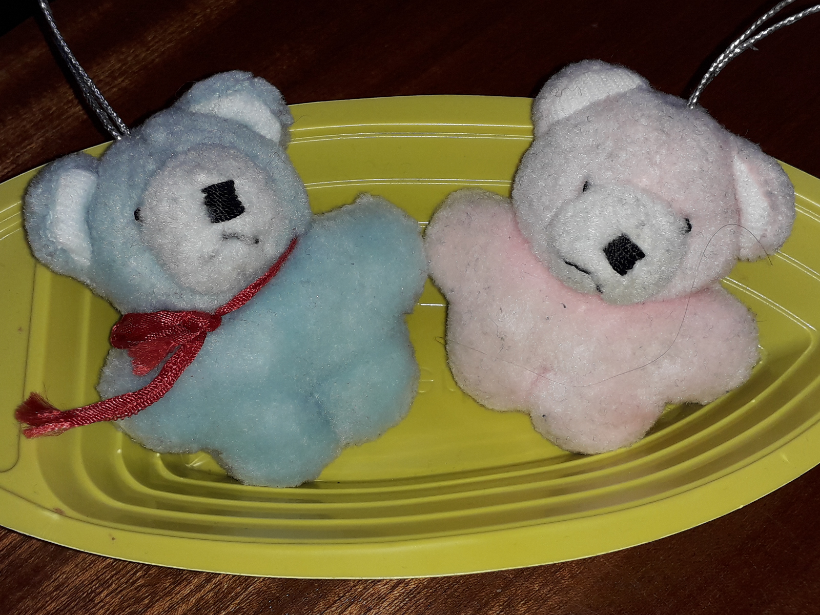 Blue Bear and Pink Bear