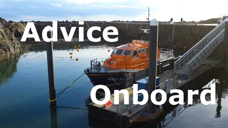 Advice onboard