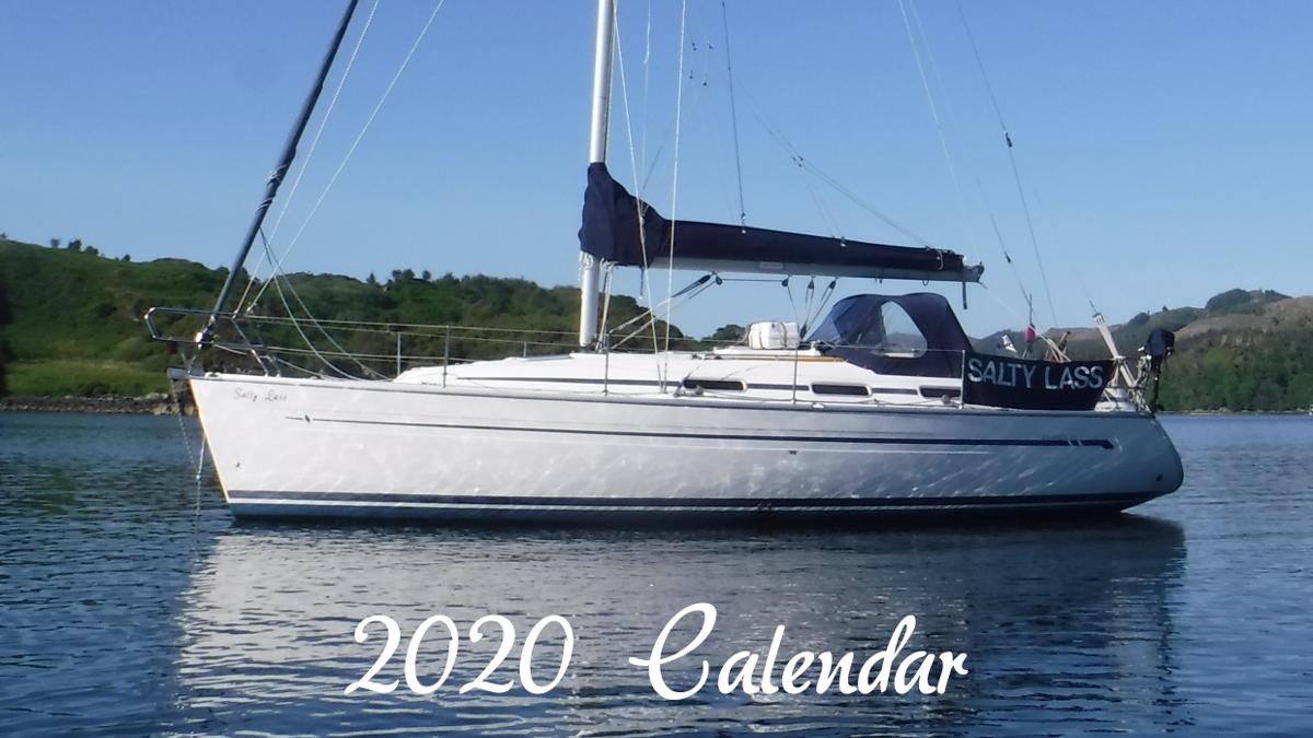 Salty Lass 2020 Calendar
