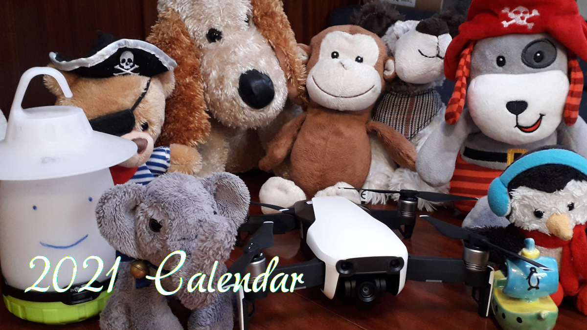 Prudence and Friends Calendar 2021