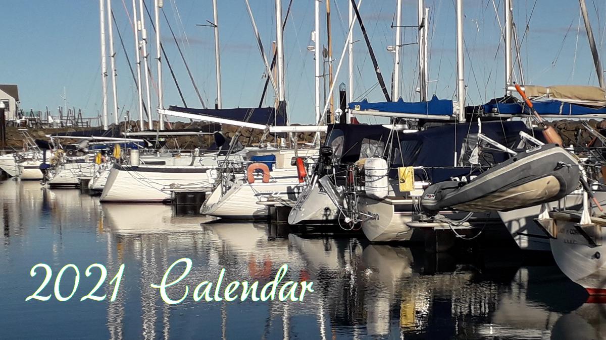 Salty Lass 2021 Calendar