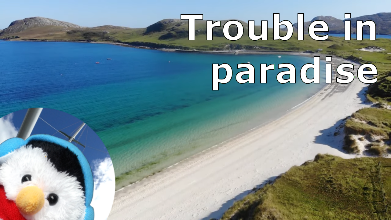 """Watch our """"Trouble in paradise"""" video and add comments"""