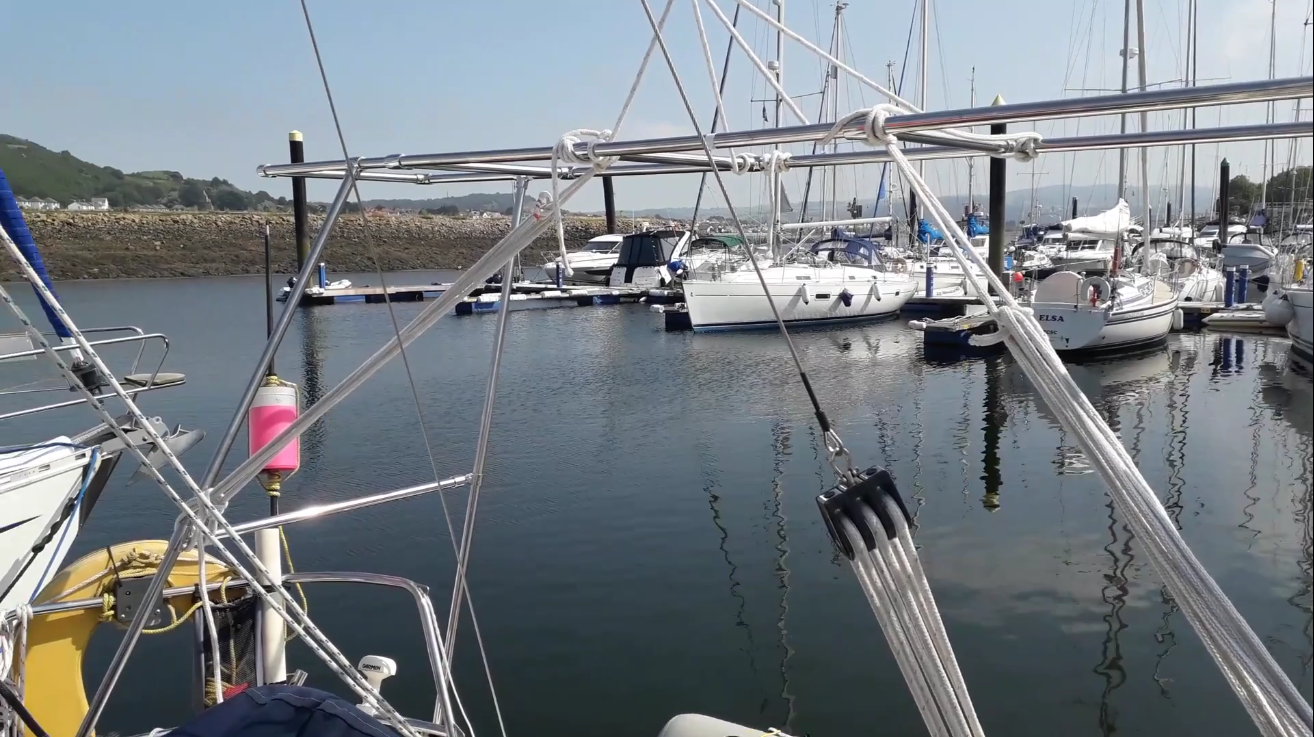 Solar Arch for a Bavaria 36